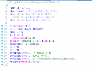 Analysing Remcos RAT's executable – KrabsOnSecurity